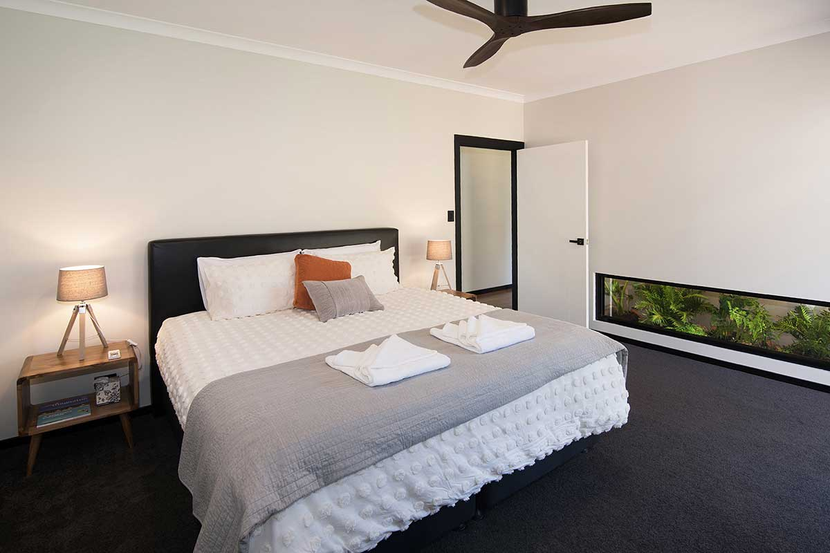 The Haven, AirBnB Margaret River, Main Bedroom