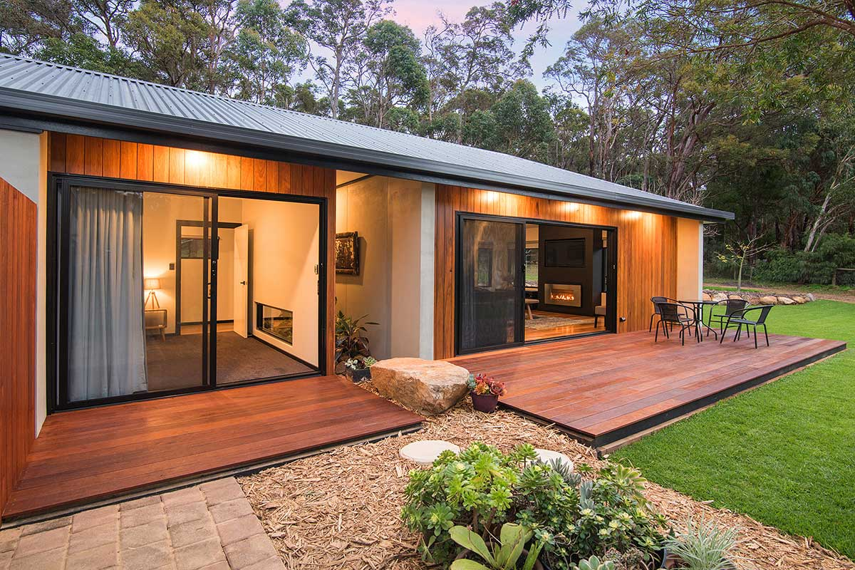 The Haven, AirBnB Margaret River, Outdoor living